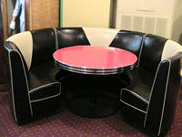 Circle Amp L Diner Booths Kitchen Diner Home Restaurant
